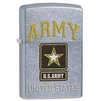 Zapalniczka ZIPPO US Army, Street Chrome (Z28753)
