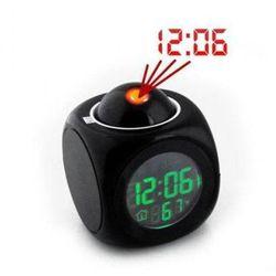 Mówiący zegarek z projektorem + budzik + termometr itd. marki S.t.i. ltd.