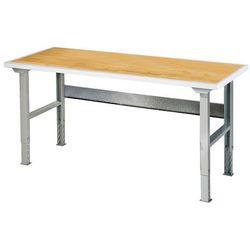 Stół roboczy solid, 500 kg, 1500x800 mm, dąb marki Aj produkty