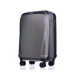 PUCCINI walizka mała/ kabinowa z kolekcji PC019 LONDYN twarda 4 koła materiał policarbon zamek szyfrowy TSA