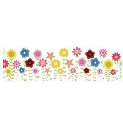 tablica magnetyczna suchoscieralna dla dzieci kwiatki 130