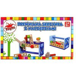 Drewniana skrzynka z narzędziami ze sklepu InBook.pl