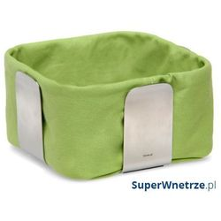 Bawełniany wkład do koszyka na pieczywo 25,5 cm desa zielony marki Blomus