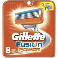 Gillette Wkłady Fusion Power 8 sztuk z kategorii Pozostałe środki do depilacji
