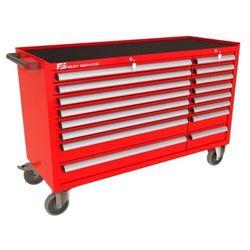 Wózek warsztatowy mega z 16 szufladami pm-212-12 marki Fastservice