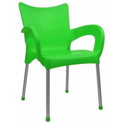 Mega plast krzesło dolce mp463, zielone