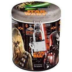 Starpak, Star Wars, skarbonka metalowa, okrągła z kategorii artykuły szkolne i plastyczne