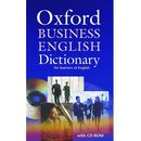 Oxford Business English Dictionary for Learners of English + CD, Parkinson
