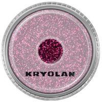 polyester glimmer medium (maroon) średniej grubości sypki brokat - maroon (2901) marki Kryolan