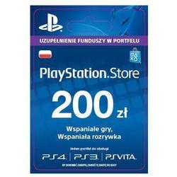 Sony PlayStation Network 200 zł [kod aktywacyjny] - produkt z kategorii- Kody i karty pre-paid