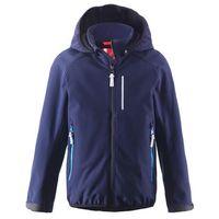 Bluza/kurtka softshell Reima na polarze KARTTA granat, towar z kategorii: Pozostała moda i styl