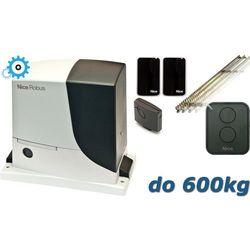 NICE ROBUS 600 SET do 600kg zestaw automatyki - 5mb listwy zębatej z kategorii Automatyka do bram