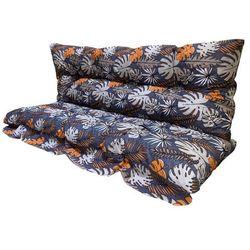 Vetro-Plus Poduszki na huśtawkę Kwiaty, 130 cm