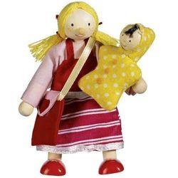 Drewniana kukiełka do zabawy w teatr - Córka, produkt marki Goki