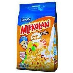 Lubella  mlekołaki kółka miodo zbożowe chrupki miodowe 250 g