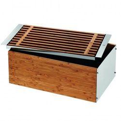 WMF - Gourmet Chlebak drewniany z deską wymiary: 43 x 25 x 15 cm