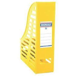 Donau Pojemnik ażurowy na dokumenty , pp, a4, składany, żółty (5901498026679)