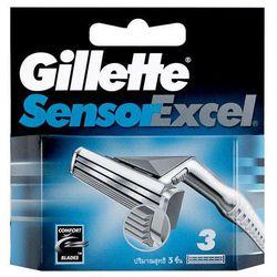 Gillette Sensor Excel 1szt M Akcesoria 5szt ostrza - produkt z kategorii- Maszynki do golenia