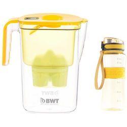 BWT dzbanek filtrujący Vida + sportowa butelka, żółty (8595235805725)