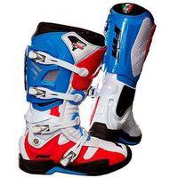 Buty crossowe  typhoon niebiesko czerwone marki Fm racing
