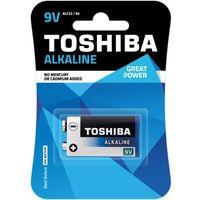 TOSHIBA Bateria Alkaline 9V 6LF22 TOSHIBA 9V ALKALINE 6LF22 (4904530590863)