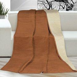 Bellatex Koc XXL XXL / Narzuta na łóżko Kira brązowy, 200 x 230 cm, 224053