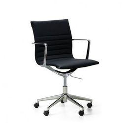 Krzesło konferencyjne exclusive, czarne marki B2b partner