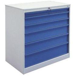 Szafa narzędziowa z 6 szufladami SZW 302 do warsztatu metalowa