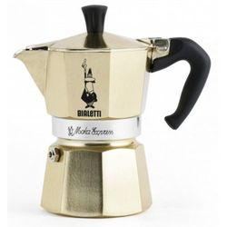 Bialetti kawiarka moka express 3 cups gold