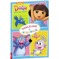 Dora poznaje świat Naklejam i koloruję - Jeśli zamówisz do 14:00, wyślemy tego samego dnia. Darmowa dosta