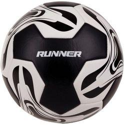 Piłka nożna SPOKEY Runner Czarno-Biały (rozmiar 5) - produkt z kategorii- Piłka nożna