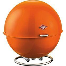 Wesco  - pojemnik na pieczywo superball - pomarańczowy - pomarańczowy, kategoria: chlebaki