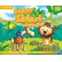 Super Safari Level 2 Pupil's Book With DVD ROM*natychmiastowawysyłkaod3,99 (9781107476882)