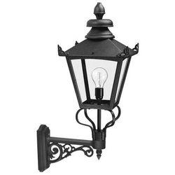 Elstead Zewnętrzna lampa ścienna grampian gb1  kinkiet oprawa ogrodowa w stylu wiktoriańskim ip23 outdoor czarny, kategoria: lampy ogrodowe