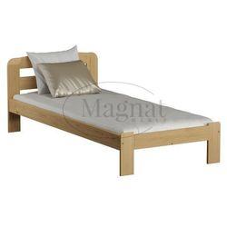 Łóżko drewniane sara 90x200 marki Magnat - producent mebli drewnianych i materacy