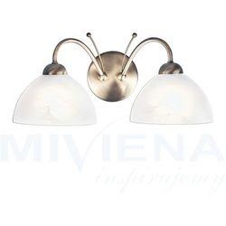 Milanese kinkiet 2 patyna szkło marki Searchlight