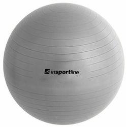 Piłka fitness Top Ball z pompką 45cm Insportline - szary