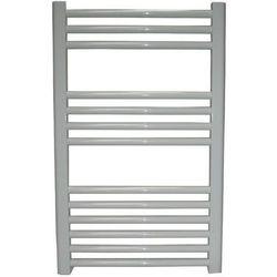 Grzejnik łazienkowy York - wykończenie proste, 500x800, Biały/RAL -