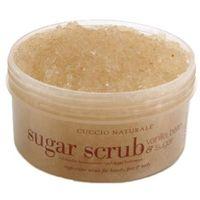 sugar scrub vanilla bean & sugar peeling cukrowy do dłoni, stóp i ciała o zapachu waniliowym marki Cuccio
