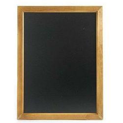 Hendi OUTLET - Tablica menu ścienna z drewniana ramą   400x600mm - kod Product ID