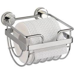 Uchwyt na papier toaletowy SION, Power-Loc - stal chromowana, WENKO, B001B6T4BI