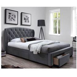 Łóżko tapicerowane Dizer - popiel, V-CH-SABRINA-LOZ