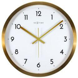 Zegar ścienny Arabic biały, kolor biały
