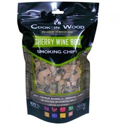 Wiórki wędzarnicze 0,36kg sherry brązowe marki Cook in wood