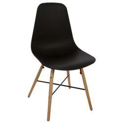 Atmosphera créateur d'intérieur Nowoczesne czarne krzesło, siedzisko do biurka, salonu