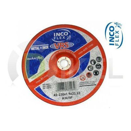 Tarcza tnąca do metalu 42A 230 x 1,9 mm INCO FLEX - produkt z kategorii- tarcze do cięcia
