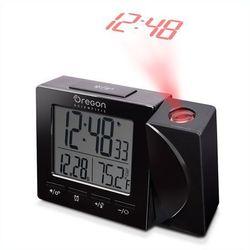 Zegar z projektorem rm512p-bk czarny + darmowy transport! marki Oregon