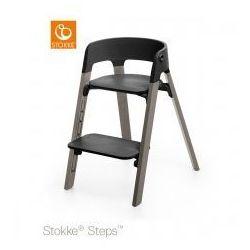 Stokke Krzesełko ® steps™ black/ hazy grey