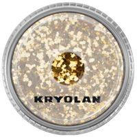 polyester glimmer coarse (gold) gruby sypki brokat - gold (2901) marki Kryolan
