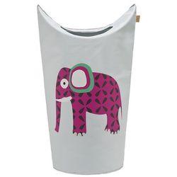 Lassig  - kosz na zabawki lub pranie wildlife słoń, kategoria: kosze na pranie